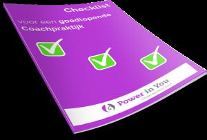 Gratis checklist voor je coachpraktijk