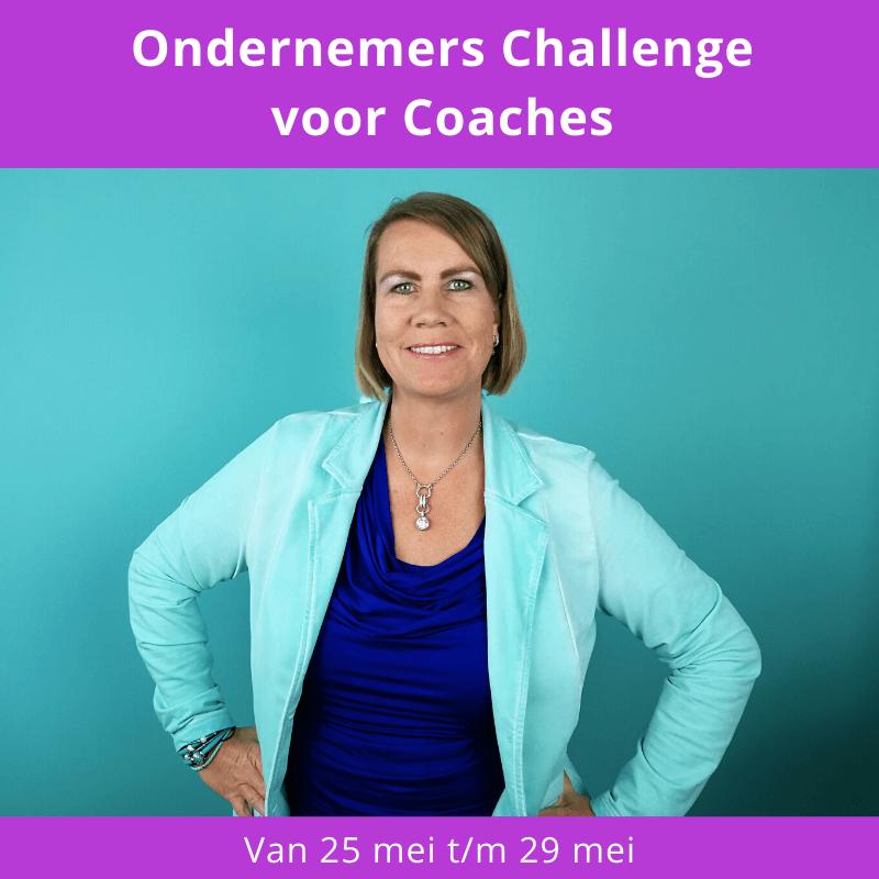 Ondernemers Challenge voor Coaches