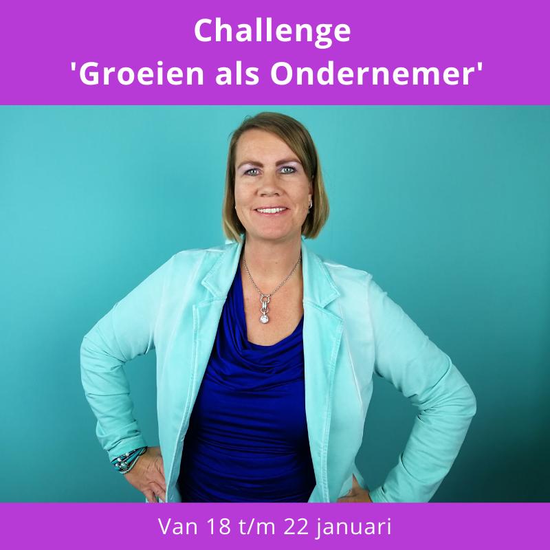 Challenge Groeien als Ondernemer